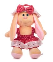 """Мягкая игрушка """"Заяц Катя. В шляпке"""" (28 см)"""