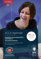 FIA Foundations of Accountant in Business FAB (ACCA F1). Practice and Revision Kit