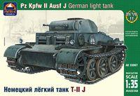 Немецкий лёгкий танк T-II J (масштаб: 1/35)