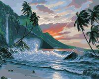 "Картина по номерам ""Дикий пляж"" (400х500 мм)"