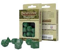 "Набор кубиков ""Pathfinder. Kingmaker"" (7 шт.; зелено-белый)"
