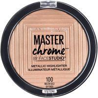 "Хайлайтер для лица ""Master Chrome"" тон: 100, gold"