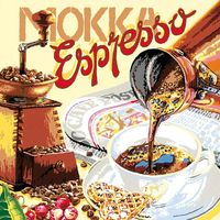 """Картина по номерам """"Espresso"""" (300х300 мм)"""