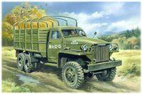 Армейский грузовой автомобиль ІІ Мировой войны, Studebaker US6 (масштаб: 1/35)