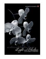 """Блокнот в клетку """"Орхидея"""" (А4; 160 листов)"""