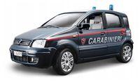 "Модель машины ""Bburago. Fiat Nuova Panda Carabinieri"" (масштаб: 1/24)"