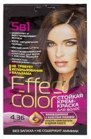 """Крем-краска для волос """"Effect Сolor"""" (тон: 4.36, мокко)"""