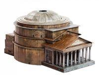 """Сборная модель из картона """"Римский Пантеон"""""""