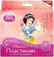"""Пластилин """"Disney. Принцессы"""" (10 цветов)"""