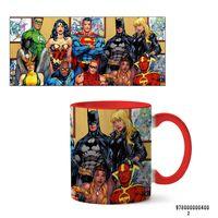 """Кружка """"Вселенная DC"""" (арт. 400, красная)"""