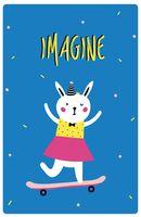 "Блокнот ""Imagine"" (А5)"