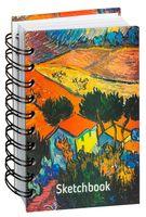 "Скетчбук ""Ван Гог. Пейзаж с домом и пахарем"" (А6)"