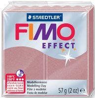 """Глина полимерная """"FIMO Effect"""" (перламутровая роза; 57 г)"""