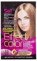 """Крем-краска для волос """"Effect Сolor"""" (тон: 7.0, светло-русый)"""