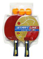 "Набор для настольного тенниса ""Level 200"" (2 ракетки+3 мяча; арт. 61300)"
