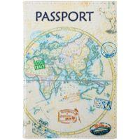 """Обложка на паспорт """"Карта"""" (арт. KPs_3308)"""