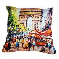"""Подушка """"Франция. Париж"""" (арт. A0001)"""
