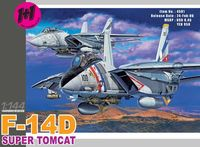 "Набор самолетов ""F-14D Super Tomcat VF-2 Bounty Hunters"" (масштаб: 1/144)"