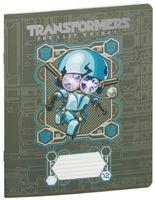 """Тетрадь в клетку """"Transformers"""" (12 листов; в ассортименте)"""