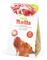 """Печенье для собак """"Rolls"""" (200 г; с начинкой из мяса ягненка)"""