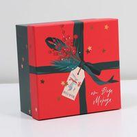 """Подарочная коробка """"Новогодняя почта"""""""