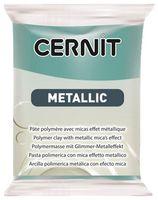 """Глина полимерная """"CERNIT Metallic"""" (тюркиз золото; 56 г)"""