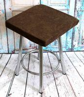 """Подушка на стул """"Velours Cuadro"""" (33х33 см; коричневая)"""