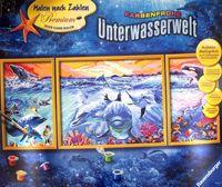 """Картина по номерам """"Подводный мир"""""""