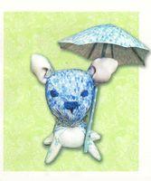 """Набор для шитья из ткани """"Дождливая суббота"""""""