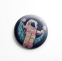 """Значок маленький """"Космонавт"""" (арт. 057)"""