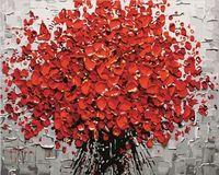 "Картина по номерам ""Красный букет"" (500х650 мм)"