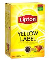 """Чай черный листовой """"Lipton. Yellow Label"""" (100 г)"""