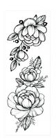 """Набор татуировок для тела """"Renaissance"""""""
