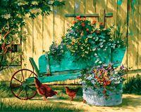 "Картина по номерам ""Тенистый сад"" (400х500 мм)"