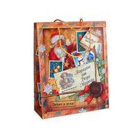 "Пакет бумажный подарочный ""Подарок от Деда Мороза"" (23х18х10см; арт. 10444333)"