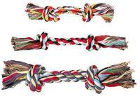 """Игрушка для собак """"Веревка с двумя узлами"""" (37 см)"""