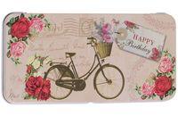 """Подарочная коробочка для денег """"Велосипед"""" (арт. 43671)"""