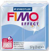 """Глина полимерная """"FIMO Effect"""" (голубой агат; 57 г)"""