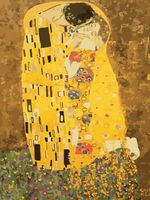"Картина по номерам ""Густав Климт. Поцелуй"" (400х500 мм)"