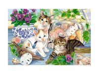 """Пазл """"В мире животных. Кошки на окошке"""" (247 элементов)"""