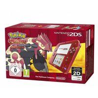 Игровая Приставка Nintendo 2DS Прозрачный красный + Pokémon Omega Ruby