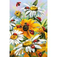 """Алмазная вышивка-мозаика """"Солнечные цветы"""" (400x600 мм)"""