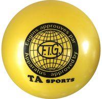 Мяч для художественной гимнастики RGB-101 (15 см; жёлтый)
