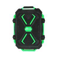 Портативное зарядное устройство Ritmix RPB-10407LST (черно-зеленый)