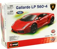 "Модель машины ""Bburago. Kit. Lamborghini Gallardo"" (масштаб: 1/32)"