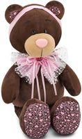 """Мягкая игрушка """"Медведь Milk. Розовый бант"""" (20 см)"""