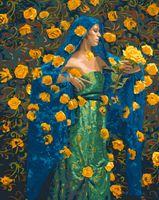 """Картина по номерам """"Тайна желтых роз"""" (400х500 мм)"""