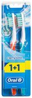 """Зубная щетка """"Oral-B Комплекс. Глубокая Чистка"""" (средней жесткости, 2 шт)"""