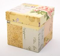 "Подарочная коробка ""Letters"" (11х11х11 см)"