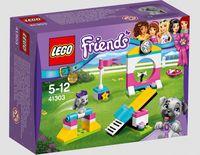 """LEGO Friends """"Выставка щенков: Игровая площадка"""""""